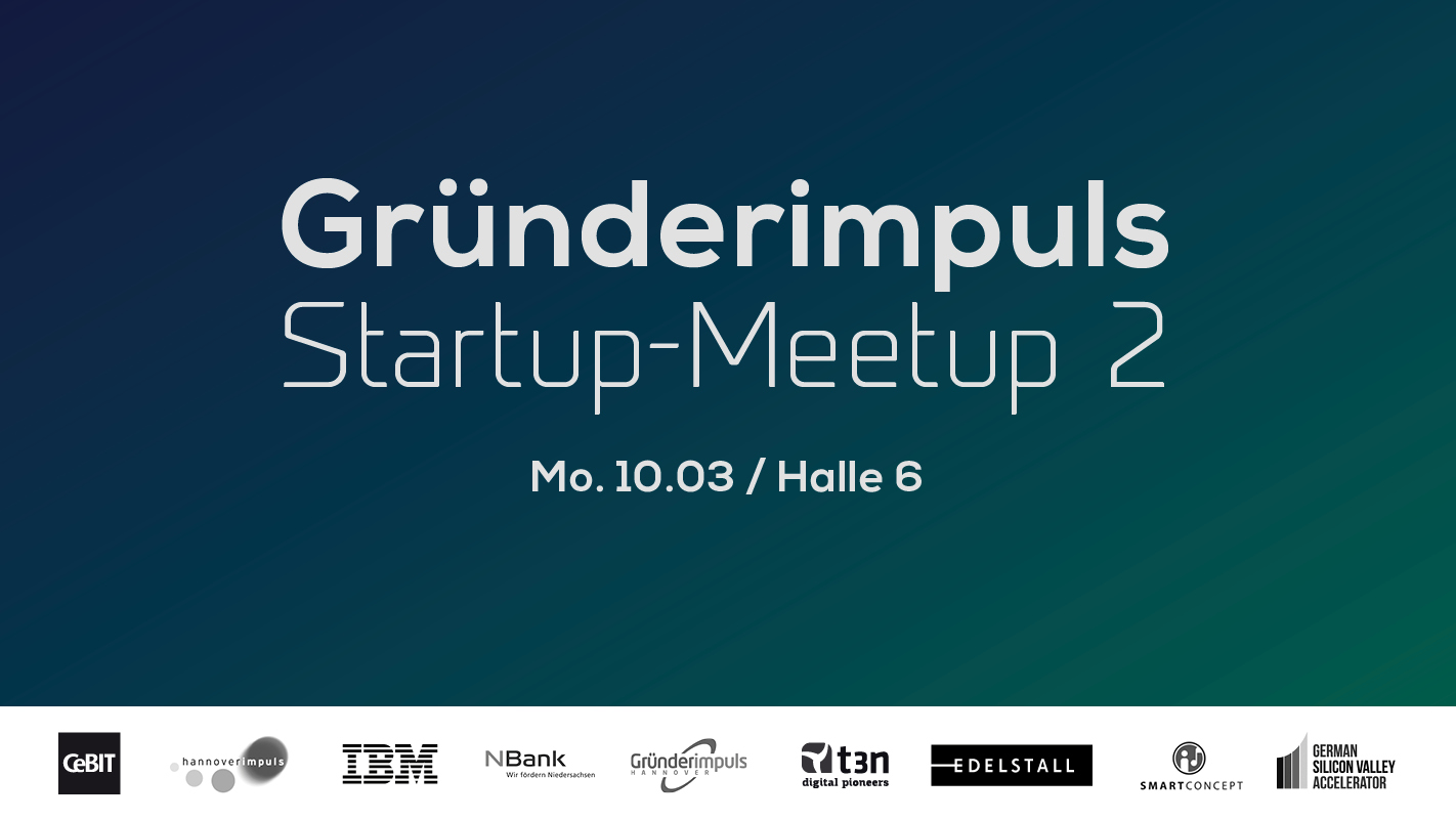 Gründerimpuls Meetup zur Cebit