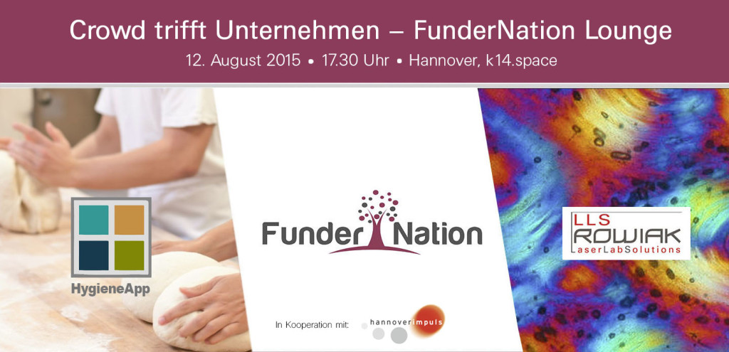 150716 FunderNation Lounge Hannover